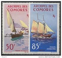 Comores, PA N° 10 à N° 11** Y Et T - Airmail