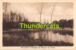 CPA BERGEN OP ZOOM WOUWSCHE PLANTAGE BIJ - Bergen Op Zoom
