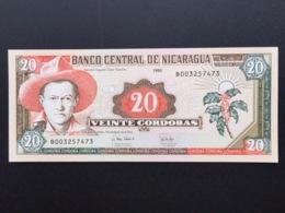 NICARAGUA P182 20 CORDOBAS 1995 UNC - Nicaragua