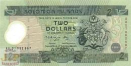 SOLOMON ISLANDS 2 DOLLARS 2001 PICK 23 POLYMER UNC - Salomonseilanden