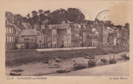 ST.VALERY SUR SOMME : LE QUAI BLAVET (29) - Saint Valery Sur Somme