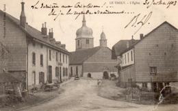 88 -LE THOLY -- L'Eglise ,édit:P. Testart - Autres Communes