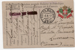 """TIMBRO """"POSTA MILITARE"""" Su CARTOLINA - 68° A - 6. 1946-.. Repubblica"""