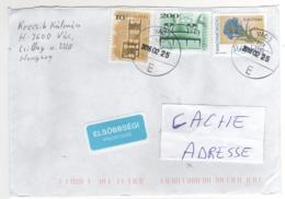 """Beaux Timbres , Stamps ,"""" Meubles ; EUROPA : Fleur  """" Sur Lettre , Cover , Mail Du 25/02/2016  Pour La France - Hongrie"""