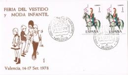 34747. Carta VALENCIA 1978. Feria Vestido Y Moda Infantil - 1931-Hoy: 2ª República - ... Juan Carlos I