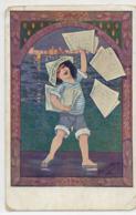 Pub Journal Le Petit Provençal Marseille Cigales . Enfant Marchand De Journaux - Sonstige Gemeinden