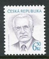CZECH REPUBLIC 2003 President Definitive 6.500 Kc MNH / **.  Michel 381 - Repubblica Ceca