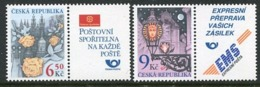 CZECH REPUBLIC 2003 Greetings Stamps  MNH / **.  Michel 379-80 - Czech Republic