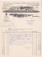 18-Ets Merlin & Cie..Société Anonyme De Construction De Machines Agricoles & Industrielles...Vierzon..(Cher)...1935 - Agriculture