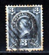 Terre-Neuve 1890 Yvert 45 (o) B Oblitere(s) - Terre-Neuve