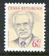 CZECH REPUBLIC 2003 President Definitive 6.40 Kc MNH / **.  Michel 363 - Tchéquie