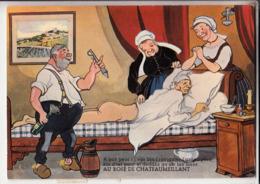 18 Carte Humoristique   Au Rose De Chateaumeillant Cpsm Gm - Sonstige Gemeinden