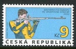 CZECH REPUBLIC 2003 European Shooting Championship MNH / **.  Michel 361 - Tchéquie