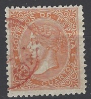España U 0089a (o) Isabel II. 1867. Foto Exacta - 1850-68 Reino: Isabel II