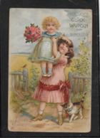 AK 0369  Herzlichen Glückwunsch Zum Namenstage Um 1906 - Wensen En Feesten