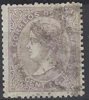 España U 0092 (o) Isabel II. 1867. Foto Exacta. - 1850-68 Reino: Isabel II
