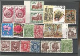 54730 ) Collection Australia King - Sammlungen