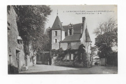 CPA 37 La Roche Cotard Commune De Langeais Facade Nord Et La Cour - Langeais