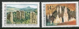 CZECH REPUBLIC 2003 Limestone Formations MNH / **.  Michel 355-56 - Tchéquie