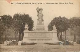 MILITAIRE MONUMENT AUX MORTS - Ecole Militaire De SAINT CYR - Oorlogsmonumenten