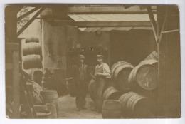 CPA Lyon - Carte Photo - Dépot D'un Marchand De Vin - Circulée 1909 - Lyon 4