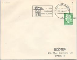 FRANCE- FLAMME 3e EXPO PHILATELIQUE FRANCO-ALLEMANDE   - POSTE AUX ARMEES 12.5.1969  / 1 - Sellados Mecánicos (Publicitario)