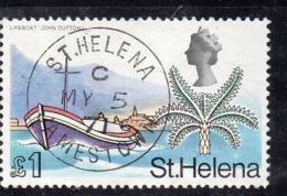 XP2677 - ST HELENA 1968 , Yvert N. 209  Usato (2380A) - Saint Helena Island