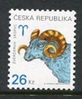 CZECH REPUBLIC 2003 Zodiac Definitive 26 Kc MNH / **.  Michel 349 - Czech Republic