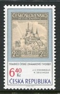CZECH REPUBLIC 2003 Stamp Day MNH / **.  Michel 346 - Czech Republic