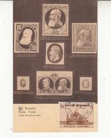 Belgique  Timbre N° 471 Sur Carte  VOIR LE VERSO Avec Timbres Colonie Italienne  Afrique Occidentale  2 Scan - België