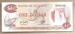 Guyana - Banconota Non Circolata Da 1 Dollaro P-21g.2 - 1992 - Guyana