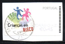 Portugal 2007 ATM-FRAMA - Crianças Em RISCO - 0.45 € - ATM/Frama Labels