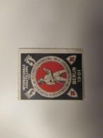 1901 BERLIN International Ausstellung Fur Feuerschutz Pompieri Vigili Del Fuoco Label CINDERELLA - Nuovi
