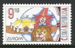 CZECH REPUBLIC 2002 Europa: Circus MNH / **.  Michel 319 - Repubblica Ceca