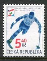 CZECH REPUBLIC 2002 Winter Paralympic Games  MNH / **.  Michel 314 - Tchéquie