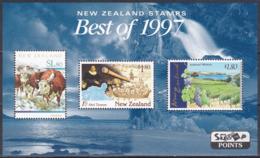 Neuseeland New Zealand 1998 Tiere Animals Cattles Landwirtschaft Weinbau Wine Geschichte History Abel Tasman, Bl. 71 ** - Nouvelle-Zélande