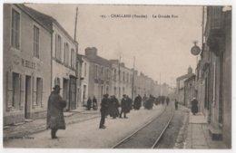 CPA 85 CHALLANS Commerce M. BELET Grande Rue Horlogerie - Challans