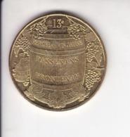 Medaille Jeton Touristique Mdp Monnaie De Paris Passenans Frontenay 13e Percée Du Vin Jaune 2009 - 2009