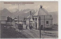 Collalbo - Stazione Klobenstein - Treno  - 1926          (A-139-190414) - Italy