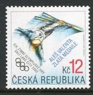 CZECH REPUBLIC 2002 Winter Olympics Medal Winner MNH / **.  Michel 317 - Repubblica Ceca