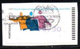 Portugal 2007 ATM-FRAMA - Ano Europeu... - 0.30 € - ATM/Frama Labels