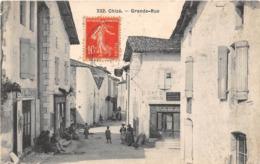 CHIZE - Grande Rue - Francia