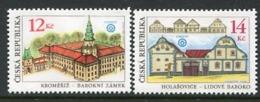 CZECH REPUBLIC 2001 World Heritage Sites  MNH / **.  Michel 303-04 - Tchéquie