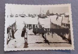 PORTUGAL - ALGARVE - ALBUFEIRA - PRAIA DE OLHOS DE ÁGUA - REAL PHOTO 1950's - Places
