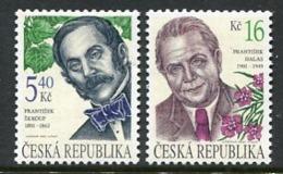CZECH REPUBLIC 2001 Personalities MNH / **.  Michel 291-92 - República Checa