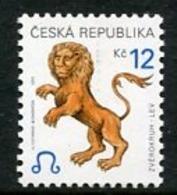 CZECH REPUBLIC 2001 Zodiac Definitive 12 Kc MNH / **.  Michel 282 - Repubblica Ceca