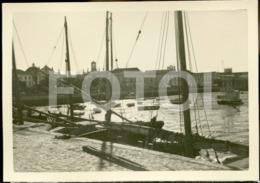 1952 ORIGINAL AMATEUR PHOTO FOTO FARO ALGARVE PORTUGAL - Places
