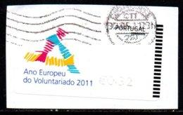 Portugal 2011 ATM-FRAMA - Ano Europeu ...  - 0.32 € - ATM/Frama Labels