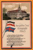 OLDENBURG -  GROSSH  SCHLOSS  -  AUS GROSSER ZEIT KRIEGSJAHR 1914 - 15  -  Février 1916 - Oldenburg