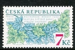CZECH REPUBLIC 2000 IMF And World Bank MNH / **.  Michel 269 - Czech Republic